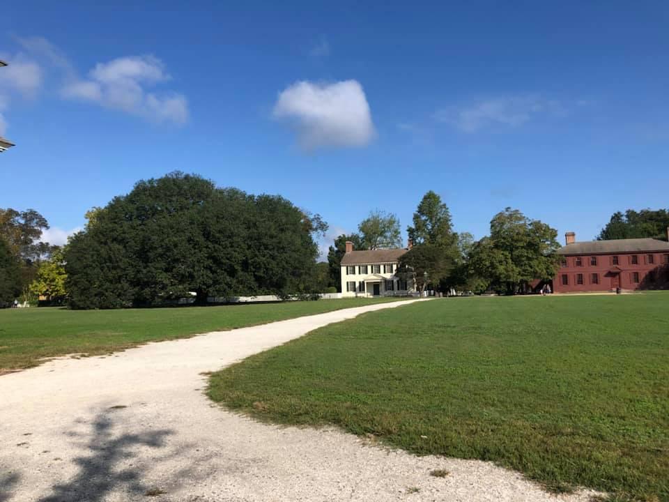 Colonial Williamsburg, inspiration for Revolutionary Love